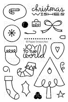 All Yule Need stamp set by Paper Smooches