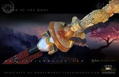 Sword of the Gods Tachi 257 by Marto