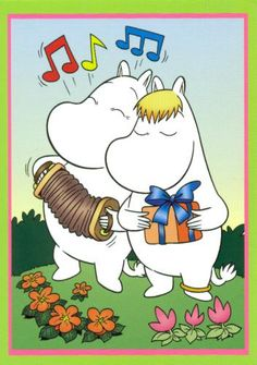 Postcrossing postcard from Finland Tove Jansson, Moomin Valley, Animated Cartoons, Little My, Cute Characters, Game Character, Illustrators, Book Art, Childhood