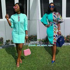 2019 Sweet and Lovely Ankara Short Gown Styles - Naija's Daily Short African Dresses, Ankara Short Gown Styles, Short Gowns, Latest African Fashion Dresses, African Print Dresses, African Print Fashion, Africa Fashion, Short Styles, African Skirt