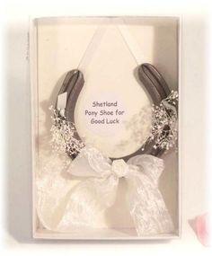 Cute wedding gift idea for a horse crazy bride
