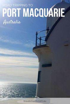Spending time in Port Macquarie, Australia