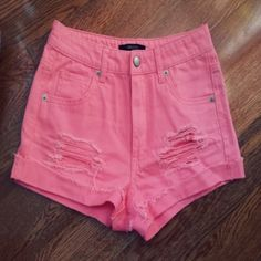 Short rosados $6.000 - Tienda Blue Love www.vistete.cl