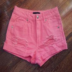 Short rosados $6.000 - Tienda Blue Love www.vistete.cl