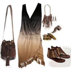 Boho chic , Fashion Clothes Combine
