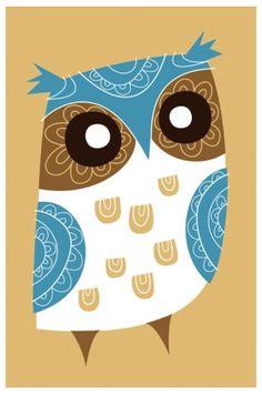 'Winter Owl' from larkmade