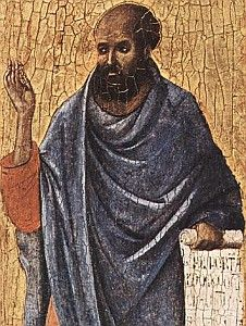 Ezekiel the Prophet. Author of the Old Testament book foretelling the fall of Jerusalem.