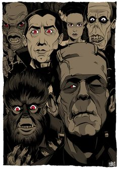 Monsters by Dave Black