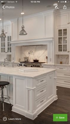 26 Wonderful White Kitchen Design Ideas And Decor. If you are looking for White Kitchen Design Ideas And Decor, You come to the right place. Here are the White Kitchen Design Ideas And Decor. Grey Kitchen Cabinets, Kitchen Cabinet Design, Kitchen Counters, Kitchen Islands, Soapstone Kitchen, Kitchen Backsplash, Wood Countertops, Kitchen Fixtures, Backsplash Ideas