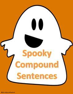 esl halloween sentences