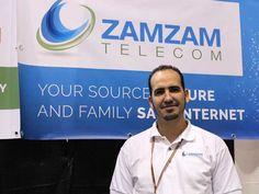 Nassim Mahi is the founder of Zamzam Telecom.