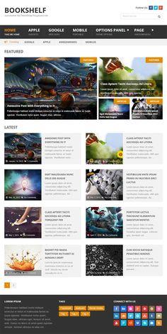 BookShelf - A Beautiful Multipurpose WordPress Blog Theme