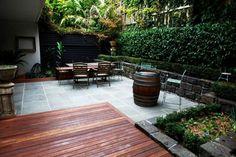 small patio in Melbourne