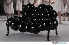 From Samuel Ben Shalom for Talents Design: Mad Cow Arm Chair