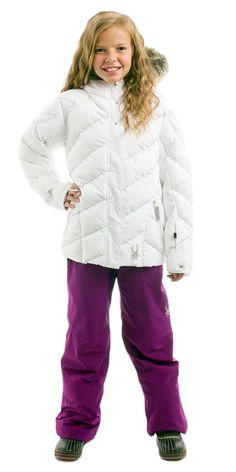 Girls Spyder Hottie White Vixen Gypsy Outfit