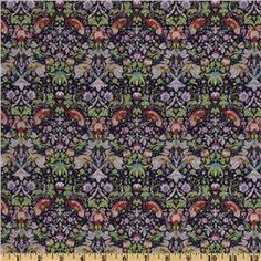 Liberty of London Tana Lawn Strawberry Thief Pink/Navy. 32.98 per yard