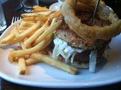 Veggie burger from Burger and Barrel