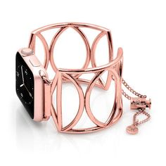 Overview Features Size and Fit The Cleo jewelry cuff looks stunning on your Apple Watch®. It's scalloped design offers a softer look while being both stylish an