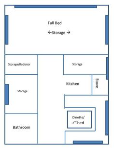 campervan layout ideas - Google Search