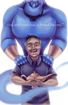 do you see genie crying?!?!?<<<<nonno no genie don't cry... Rip to the funniest man on earth
