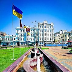 Vinnitsa - Independence Square (Maydan) / Вінниця - Майдан Незалежності / Винница - Площадь Независимости