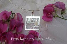#wedding #brides #handmade #jewelry #dogood #giveback #silver #choker