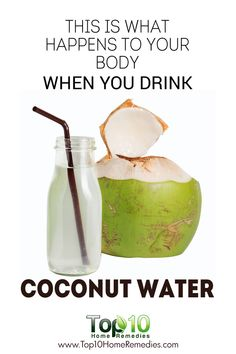 Here's What Happens To Your Body When You Drink Coconut Water!