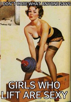 Girls who lift are sexy