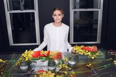 Olivia Palermo Gets a 5-Step Lesson in the Art of Fall Flower Arranging