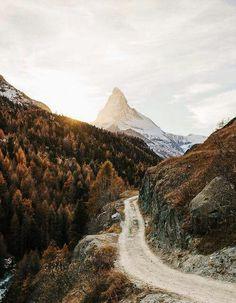Imagem de mountains, nature, and autumn