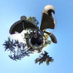 #fountain #tinyplanet #rollworld #theta360 #theta360official #littleplanet #photoshpere #livingplanetapp #ricohtheta #360camera #smallworld #spherical #roundworlds #tinyplanetbuff #360panorama #360photography #ricohtheta360 #360 #webstapick