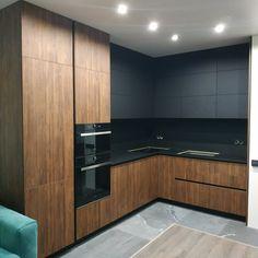New Kitchen Interior, Kitchen Room Design, Luxury Kitchen Design, Home Room Design, House Design, Kitchen Furniture, Furniture Design, Fenix Ntm, Home Building Design