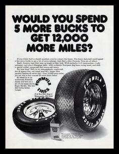 Formula Tires, 1974