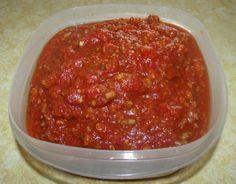 Jason's Crock Pot Spaghetti Sauce (AWESOME)!