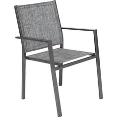 garden treasures ashville stackable sling accent chair chairs