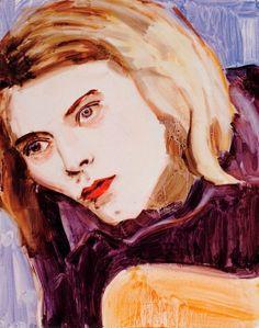 Kurt Cobain Elizabeth Peyton, 1995