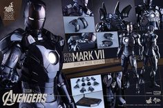 """Known for its amazing attention to detail, toy maker Hot Toys has turned its eye to re-creating Iron Man's """"Stealth Mode"""" suit from the upcoming Avengers movie."""