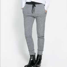 Zara joggers Used but in perfect condition. It's  from Zara. It fits tight, not loose like other joggers Zara Pants Track Pants & Joggers