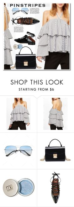 """""""striped blouse"""" by paculi ❤ liked on Polyvore featuring Givenchy"""
