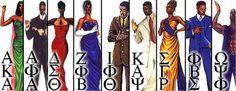 Divine 9 Fraternities And Sororities | My Divine Nine « Frm UPT Wit ♥, £u¢kλ £íßra!