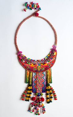 """These necklaces are a collaboration between Sasha McInnes, Maximo Laura and Richar Albites and are from the """"TOTEM"""" Collection. Each is a one of a kind piece and will shortly be on Mercado PUSHKA link on our website. We hope that you like them."""