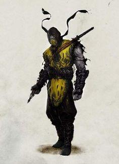 Mortal Kombat / Scorpion concept