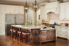Kitchen by Driggs Designs Home Decor Kitchen, Home Kitchens, Kitchen Dining, Traditional Kitchen, Traditional House, Traditional Interior, Interior Design Work, Custom Woodworking, New Construction