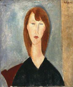 Portrait of an Unknown Model Modigliani                                                                                                                                                      More