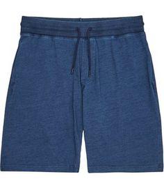 Blue jersey men's shorts