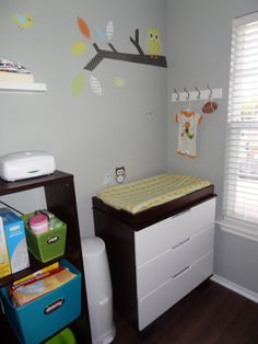 Project Nursery - Changing Table, Modo