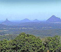 Glasshouse Mountains - The beautiful Sunshine Coast of Australia #airnzsunshine