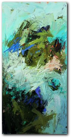 Conn Ryder, Abstract Expressionism, Colorado Abstract Artist...Breakaway...Odds and Ends collection...love her work!