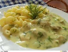 Czech Recipes, Ethnic Recipes, Gnocchi, No Cook Meals, Cheeseburger Chowder, Food Inspiration, Poultry, Risotto, Macaroni And Cheese