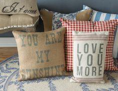 Chateau de Provence- pillows